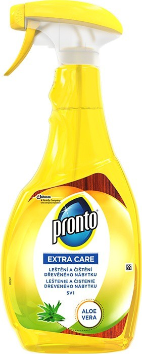 Pronto - Extra care Aloe Vera 5v1 čistič na dřevo rozprašovač 500ml