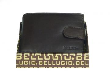 Pánska peňaženka Bellugio - čokoládovo hnědá [966]