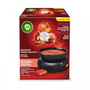 Air Wick Wax Melts elektrický ohřívač vosku a voskové náplně - Svařené víno u krbu