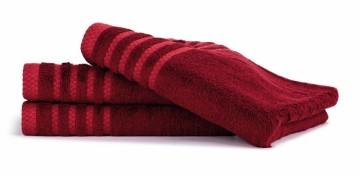 Bambusový ručník, 50x100 cm, 530g/m2 - rubínový