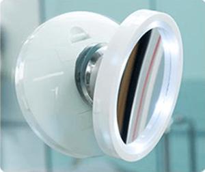Kosmetické zvětšovací zrcátko s LED podsvícením