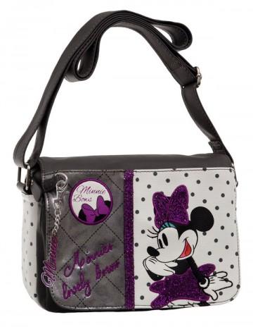 Luxusní kabelka Minnie Mašle 22 cm