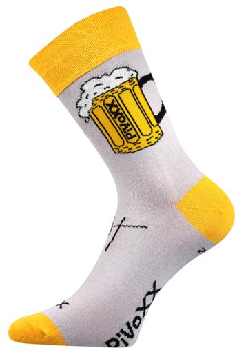 Ponožky - pivo 1 - velikost 47-50 (31-34)