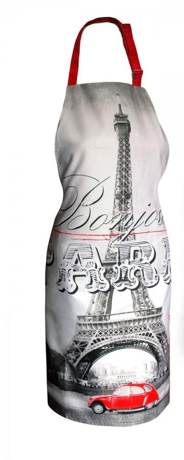 Kuchyňská zástěra Paříž Eiffelova věž