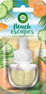 Air Wick tekutá náplň do elektrického osvěžovače - Aruba melounový koktejl, 19ml