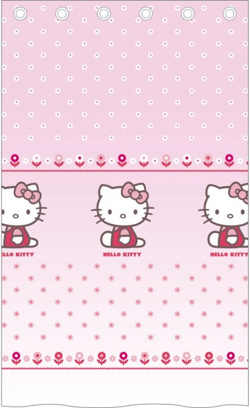 Záclona Hello Kitty Caroline 140/240 cm