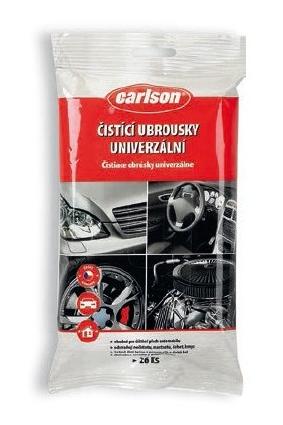 Carlson - Univerzální čisticí ubrousky na automobil - 26 ks