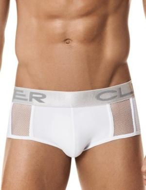 Pánské slipy Clever Zircon Classic Brief bílé, Velikost oblečení M