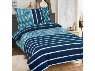 Lenjerie de pat din bumbac, pentru 2 persoane 140x200/70x90cm [PL0121]