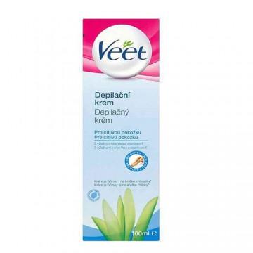 Veet® depilační krém pro citlivou pokožku, 100 m