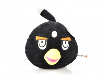 Plüss Angry Birds - Fekete 20 cm