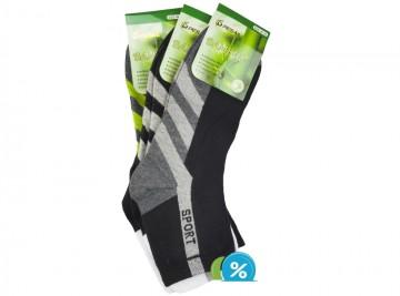 Pánské klasické bambusové ponožky Pesail ZH-6595 - 3 páry, velikost 43-47