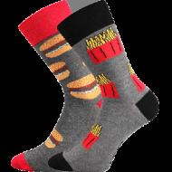 Ponožky - Fastfood - velikost 43-46