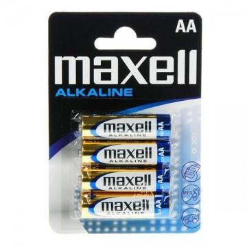 Alkalické baterie PK4 - 4x AA - 1.5V - Maxell