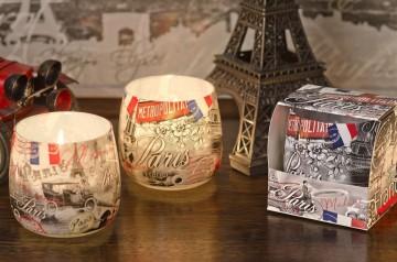Vonná svíčka ve skle - Paříž, 100g