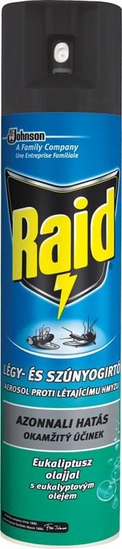 Raid - aerosol proti létajícímu hmyzu s eukalyptovým olejem, 400ml