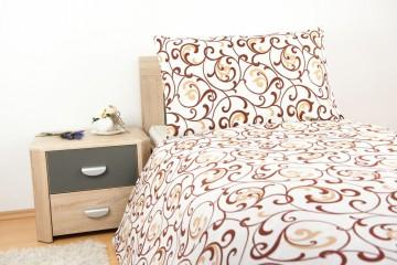 Lenjerie de pat din bumbac, pentru 1 persoane 140x200/70x90cm [PL0012]