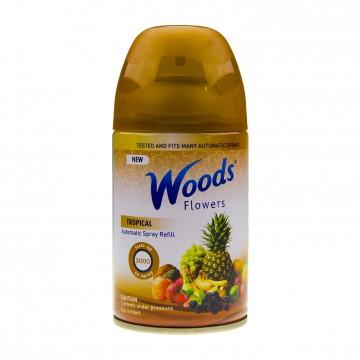 Woods Flowers, Náplň do osvěžovače vzduchu Air Wick - Tropické ovoce