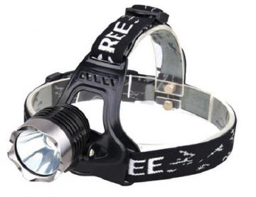 Lanternă frontală cu LED CREE XM-L T6