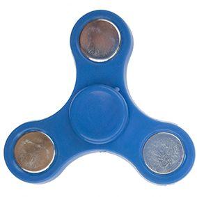 Fidget spinner mini - modrý