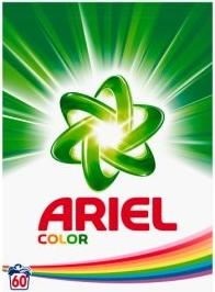 Ariel Color prací prášek na barevné prádlo, 4,5 kg - 60 dávek