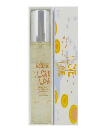 Moschino - I Love Love - toaletní voda pro ženy, 33 ml