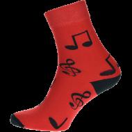 Ponožky Noty - 1 pár, velikost 39-42