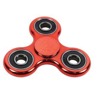 Fidget spinner - lesklý - červený
