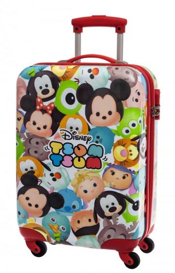 Cestovní kufr ABS Disney Tsum Tsum 55 cm