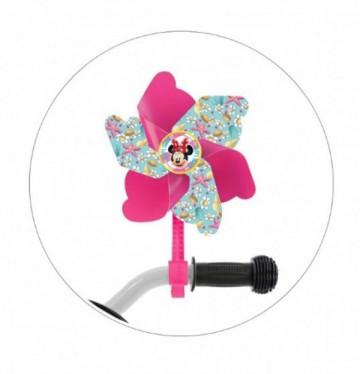 Větrník na dětské kolo Minnie Mouse