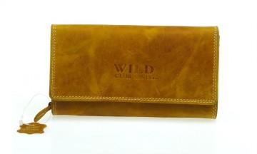 Portofel pentru femei Wild Club only - model granit maro deschi [912]