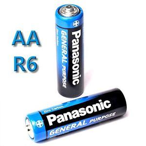 Panasonic - General Purpose R6BE, 1,6V - 4x AA elem