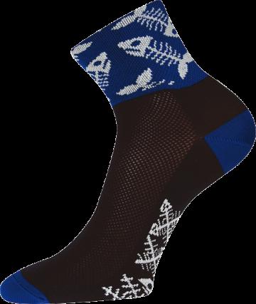 Ponožky - ryby - velikost 35-38 (23-25)