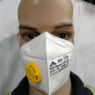 Szájvédő maszk szeleppel MIK - FFP2 - 1db