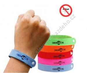 Repelentní náramky proti komárům - 20 ks - kombinace barev