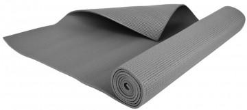 Podložka na jógu - černá, 173x61 cm