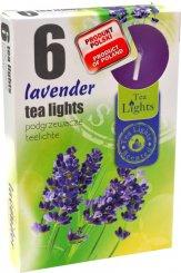 Čajové svíčky 6 kusů –  Levandule