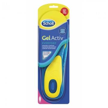 Scholl GelActiv Work - Vložky do bot pro každodenní nošení, 1 pár, velikost 38-42