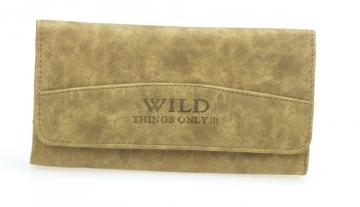 Dámska peňaženka Wild Things only - svetlo hnedá žula [904]