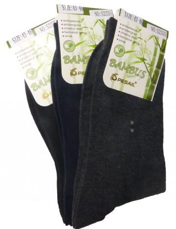 Bambusz szálas zoknik színes Pesail S2335 - 40-43 - 3 pár