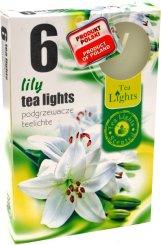 Čajové svíčky 6 kusů –  Lilie
