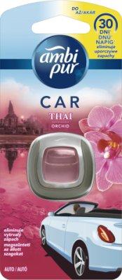 Ambi Pur CAR - osvěžovač do auta, Thajská orchidej - strojek 2ml