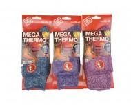 Dámské MEGA termo ponožky C-6007 - 1 pár, velikost 35-38