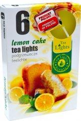 Čajové svíčky 6 kusů –  Citonový koláč