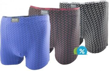 Bambusové boxerky Pesail M0167 - 1ks, velikost M