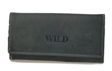 Női pénztárca Wild - fekete [914]