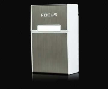 Focus cigarettatartó doboz mágnessel - sötét