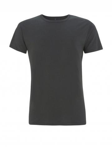 Pánské bambusové tričko, klasický střih - šedá, 1 ks - velikost XXL