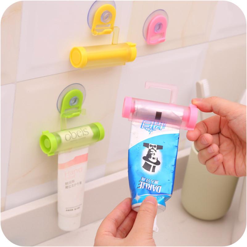 Suport cu ventuză pentru pasta de dinți