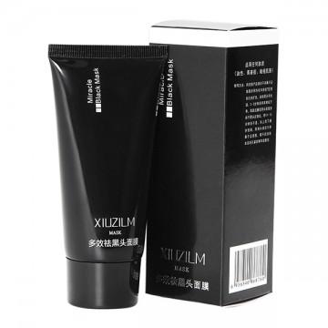 Slupovací černá maska pro hloubkové čištění pleti, v tubě - 60ml
